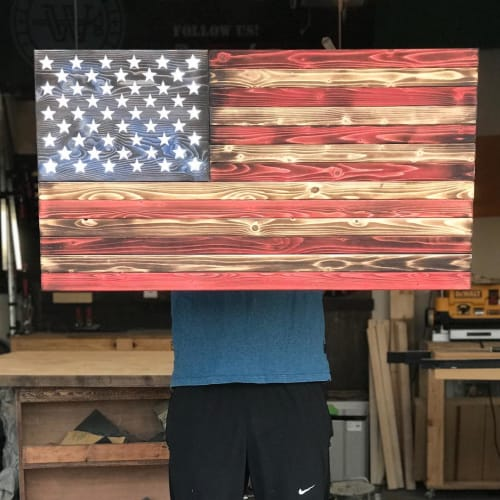 Wall Hangings by Walker & Wood seen at Murfreesboro, Murfreesboro - American Flag