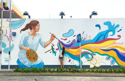 Caryn Koh - Street Murals and Public Art