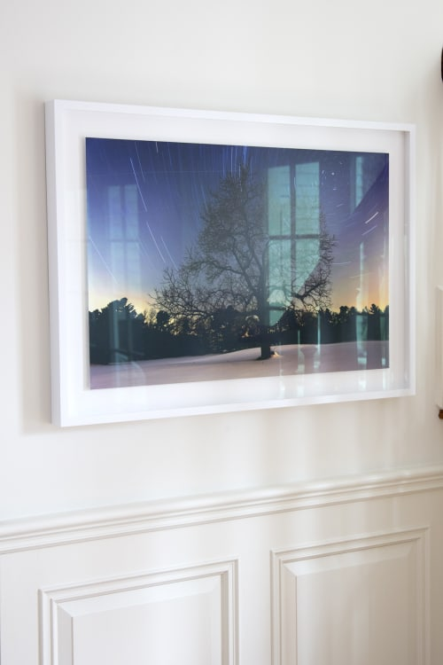 Photography by Chris Becker Photo at Private Residence, Greenwich - Black Walnut & North Star