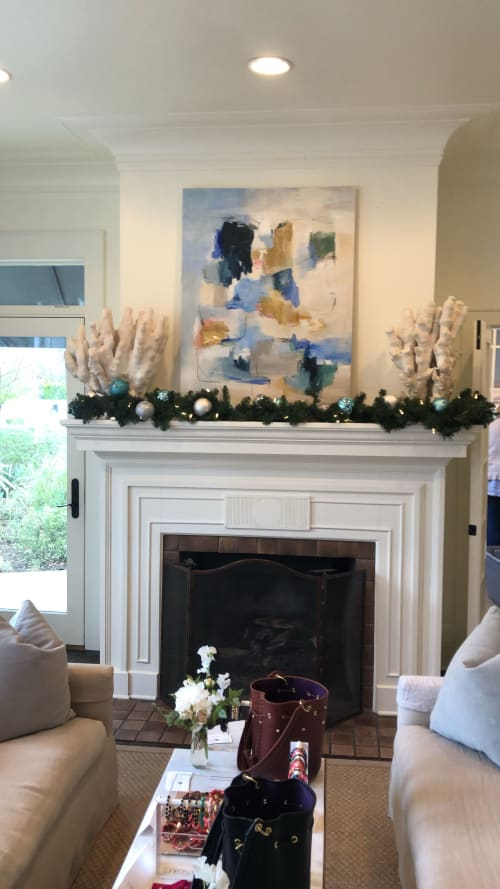 """Paintings by Erin Donahue Tice Fine Art seen at Private Residence, Austin - """"East 73rd Street"""""""