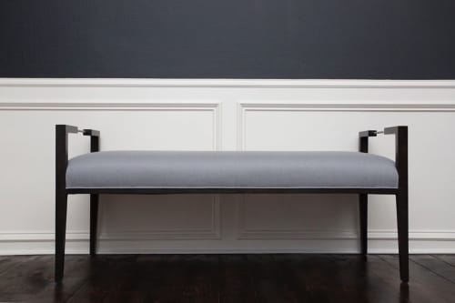 Benches & Ottomans by Jillian O'Neill Collection seen at Private Residence -  Houston, TX, Houston - Emma Bench