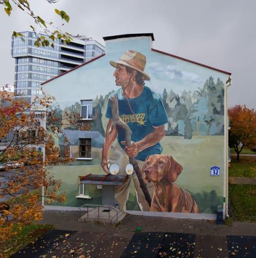 Murals by Wuper seen at Minsk, Minsk - Giga