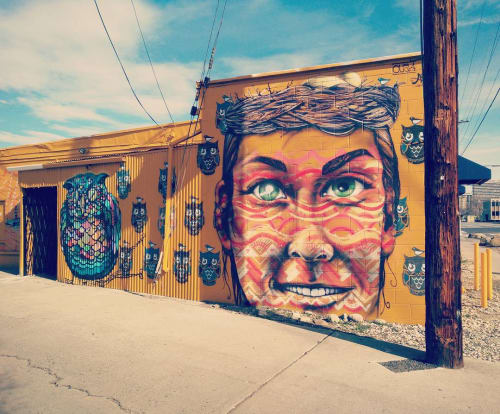 Murals by J.Charboneau seen at Reno, Reno - Wall Mural