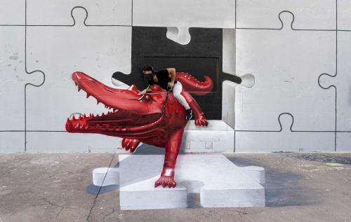 MrKas - Street Murals and Murals