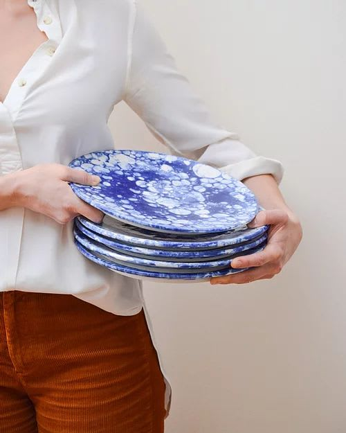 Ceramic Plates by Stone + Sparrow seen at Creator's Studio, Pittsburgh - New Amsterdam Plates