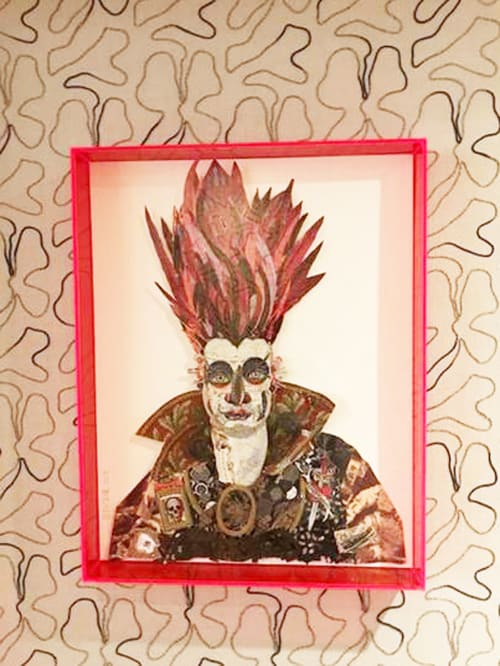 Art & Wall Decor by Peter Clark Collage at The Whitby, New York - Whitby Goth commission for The Whitby