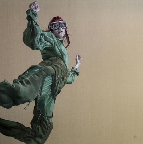Paintings by Kathrin Longhurst seen at Sydney, Sydney - Catch me if I Fall, 2017