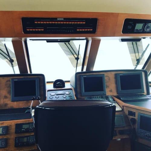 Interior Design by Grace Garza seen at Marina del Rey, Marina del Rey - Yacht remodel