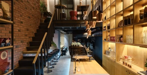Pendants by YUDIN Design seen at TAKAVA Coffee-Buffet, Kyiv - Copper Cezve