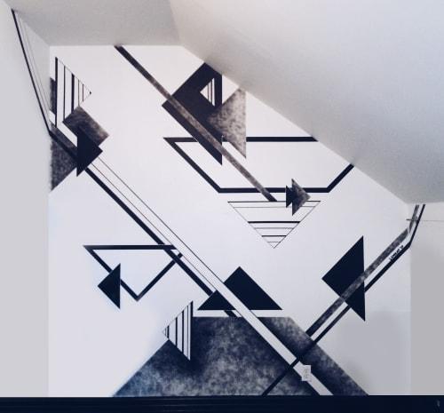 Murals by LAMKAT seen at Nordest Studio, Toronto - Nordest Studio