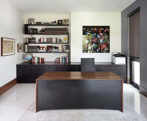 Tables by Hamilton Holmes seen at Private Residence, Toronto - Waterfall Desk