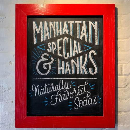Art & Wall Decor by Olga Muzician seen at Brooklyn, Brooklyn - Juliana's PIzza Chalkboards