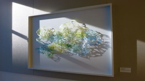 Art & Wall Decor by Jane Guthridge seen at PNC Wealth Management, Denver - Light Forms 5