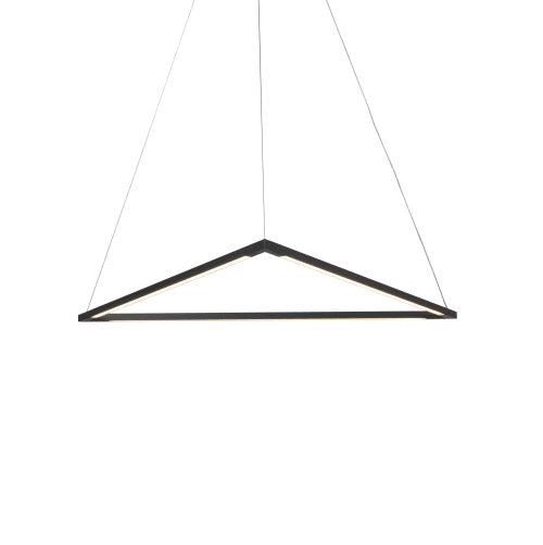 Pendants by Koncept seen at Private Residence, San Diego - Z-Bar Pendant Triangle