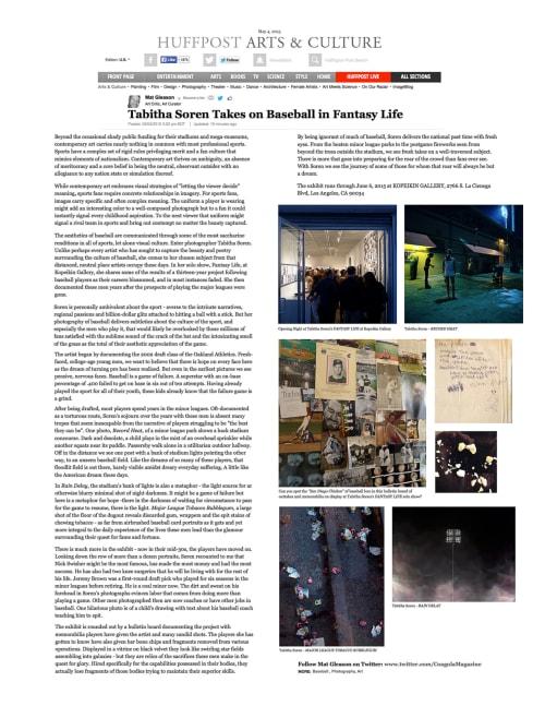 Photography by Tabitha Soren seen at Private Residence, Phoenix - Fantasy Life, Drowning Superhero, Baseball, Pool, Underwater