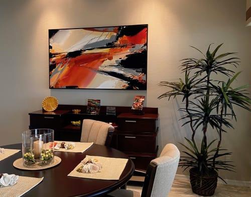 Sienna Wave | Paintings by Michael Mckee