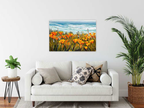 Paintings by Lisa Elley ART seen at Private Residence - Spring In To Summer