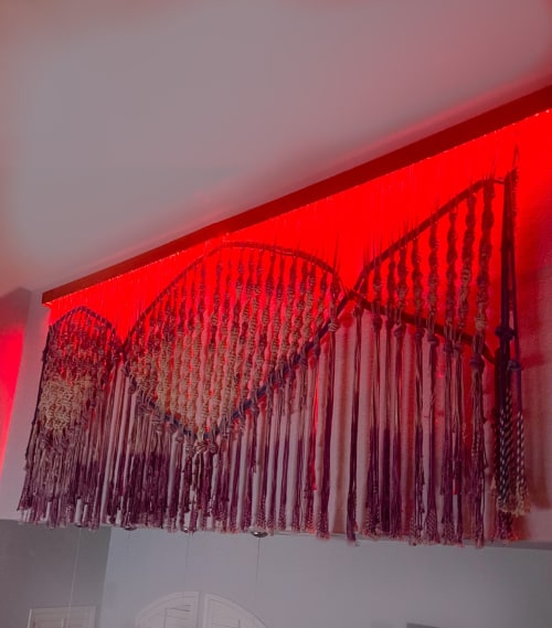 Macrame Wall Hanging by León Dragón seen at Private Residence, Reno - The DNA