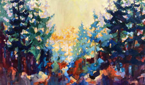 Paintings by Teresa Smith seen at Private Residence, Friday Harbor - Teresa Smith