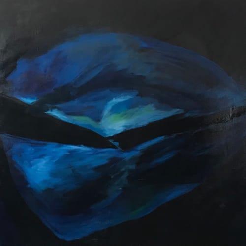 Paintings by Caroline Karp Artist seen at Davis Islands, Tampa - North Wall Series 2