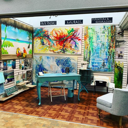 Art Turquoise Murals and faux finishes - Murals and Art