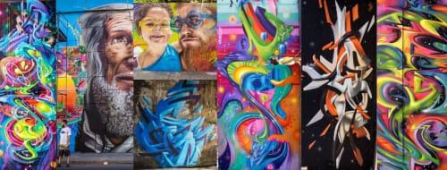 Rafael Se7 - Street Murals and Public Art