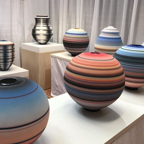 Michael Dickey - Planters & Vases and Paintings