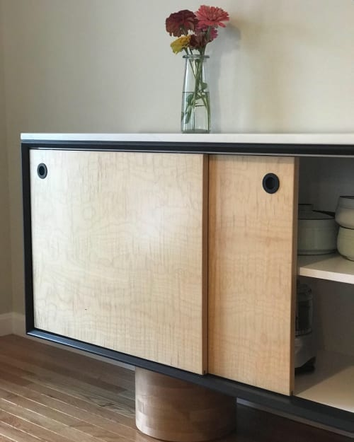 Furniture by Melad StudioWorks seen at Private Residence, Peterborough - Credenza 002
