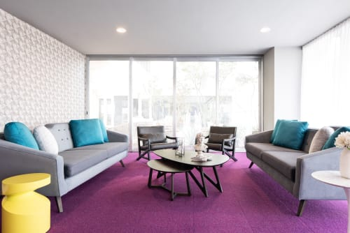 Interior Design by BTL interiorismo seen at Lobby 33, Zapopan - Lobby 33
