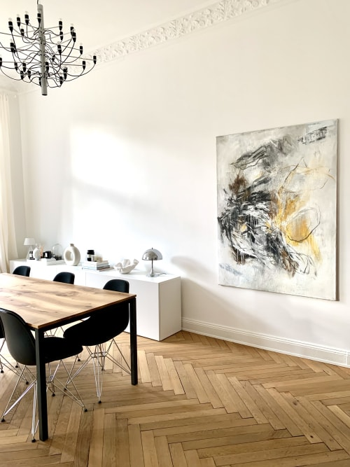 Paintings by Jutta Rika Bressem seen at Private Residence, Berlin - Distant Whispers