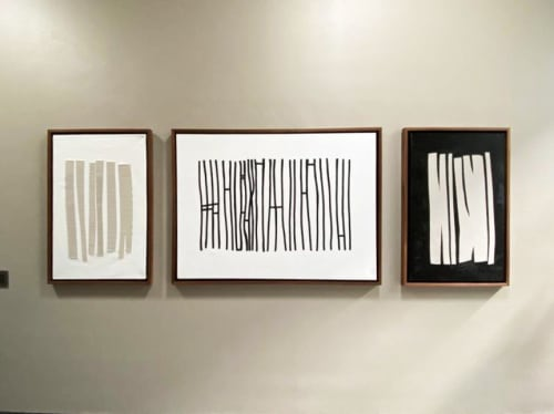 Paintings by Atelier Stumpo seen at Private Residence, León - Puentes Fronteras