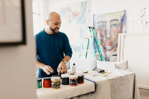 Hugo Pérez Art - Paintings and Art