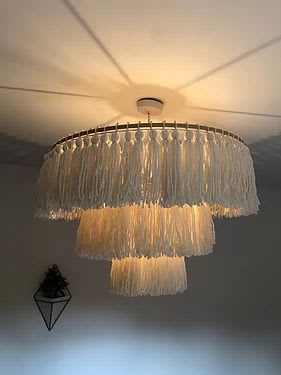 Chandeliers by Elle Collins seen at Creator's Studio, Solihull - Golowhe (glow) XXL
