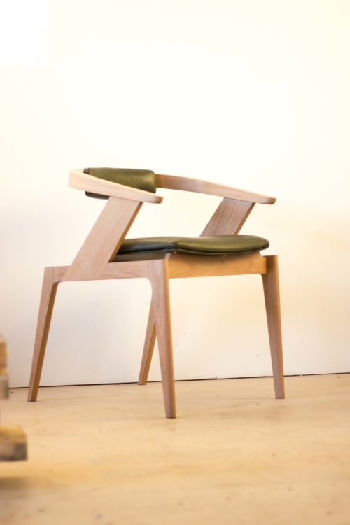 Chairs by Lee Sinclair Design Co seen at Private Residence, Yugar - Wodalla Formal Chair