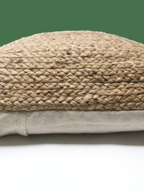 Pillows by Coastal Boho Studio seen at Destin, Destin - Jute Koko Lumbar Pillow