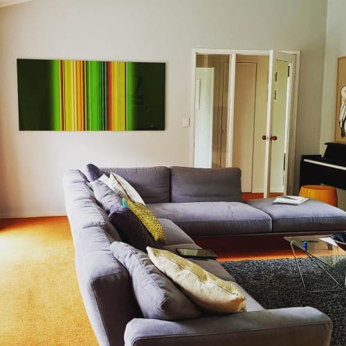 Paintings by Paul Snell seen at Private Residence - Lull Art Work