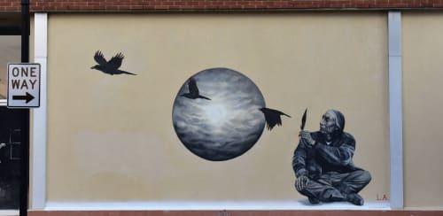 Leigh Ann Culver - Street Murals and Public Art