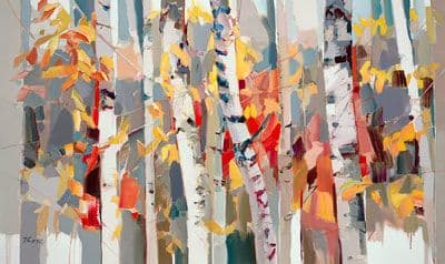 "Art & Wall Decor by YJ Contemporary seen at East Greenwich, East Greenwich - Josef Kote ""Changing Seasons"""