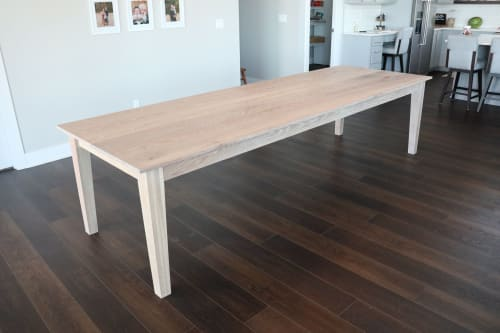 Oak Dining Table Wescover