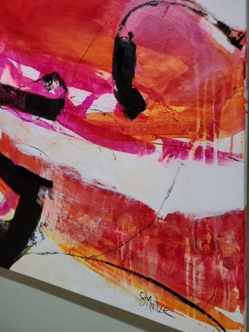 Paintings by Judy Mintze Original Artwork seen at Fishers, Fishers - Abstract Artwork