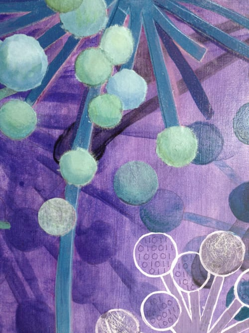 Paintings by Kathy Ferguson Art seen at Private Residence - Exodus