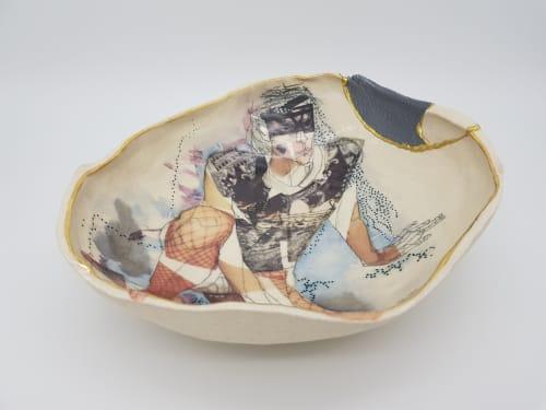 Ceramic Plates by Yurim Gough seen at Cambridge, Cambridge - Adidas man