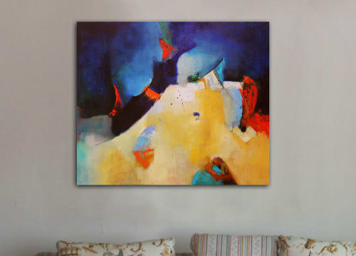 Paintings by Cecilia Arrospide at Private Residence, Miraflores, Comas, Comas - UNTITLED VIII