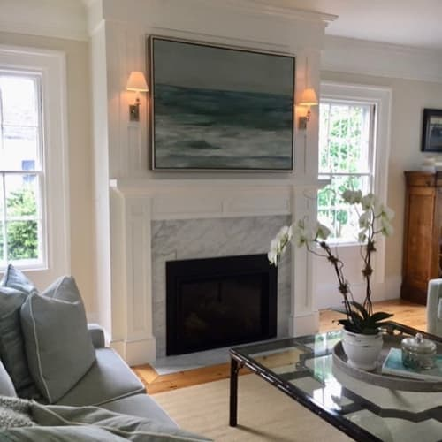 Paintings by Marc Whitney seen at Cape Cod - Seascape painting