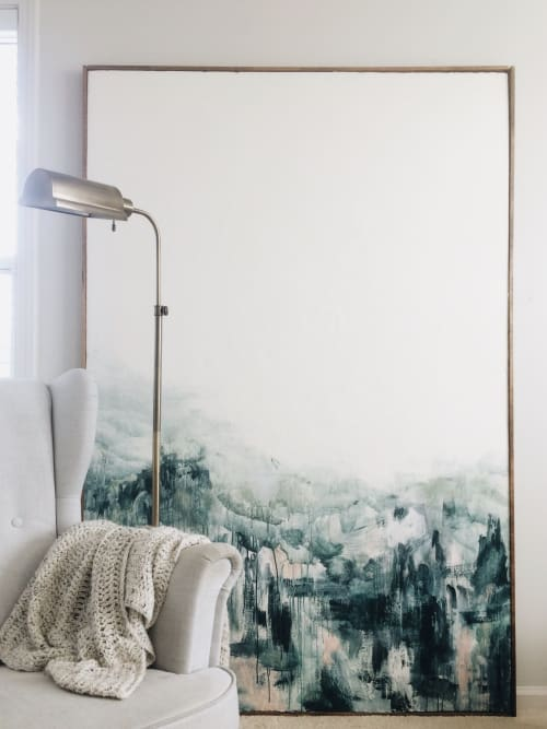 Paintings by Emily Tingey seen at Private Residence, Ann Arbor - Berth