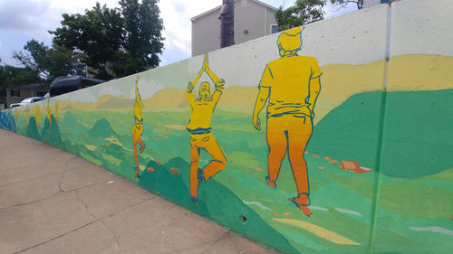 Street Murals by Eleanor Doughty seen at Charlottesville, Charlottesville - Spirits of the Piedmont