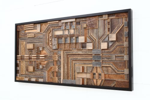 Wall Hangings by Craig Forget seen at Private Residence, Menlo Park - Circuit Board Wall Art