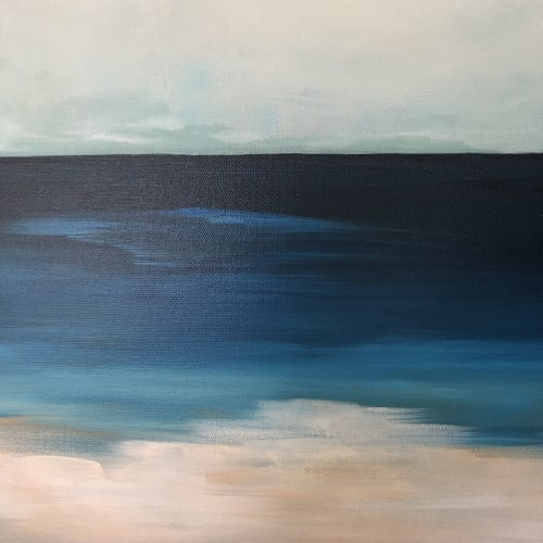 Paintings by Elizabeth Wade Studio seen at Private Residence, Petaluma - Seascape