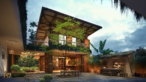 Architecture by Archiworkplace seen at Private Residence, Ninh Bình - Home Stay Ninh Bình