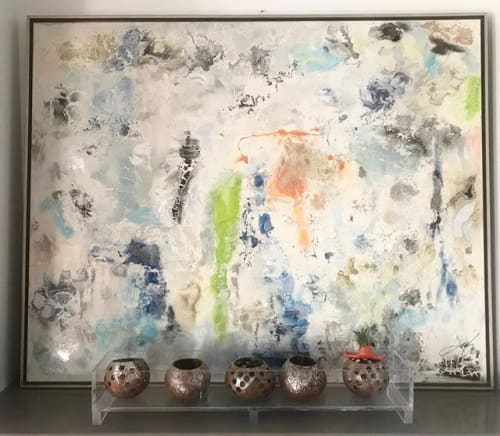 Art Curation by Amy Gordon Art seen at Private Residence, Charleston - Venice Beach, CA